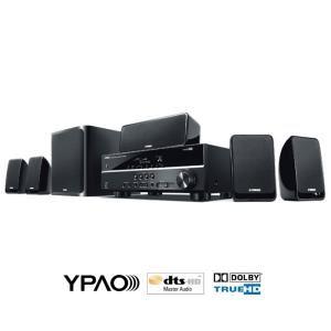 Ensemble home-cinéma 5.1 + Amplificateur Yamaha YHT-199BL