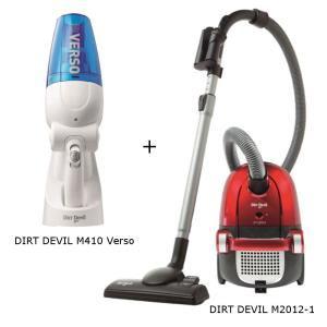 Pack aspirateur Dirt Devil M2012-1 + aspirateur à mains Dirt Devil M410