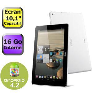 """Tablette Acer Iconia A3-A10 - 10"""" IPS 16Go Quadricoeur (avec ODR 30€)"""
