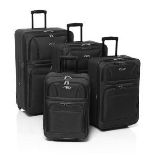 Set de 4 valises trolley à 2 roues