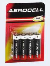 """8 piles AA/AAA """"Aerocell"""" (qualité = >Duracell/Philips)"""