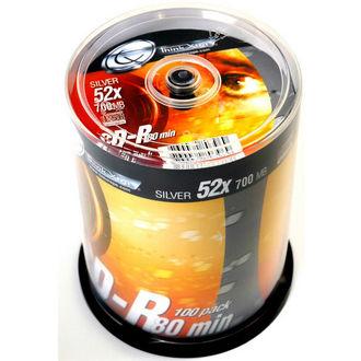 Lot de 50 CD-R vierges ThinkXtra 80min - 700 Mo - 52x
