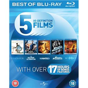 Coffrets Blu-Ray à 9,99 euros piéce - Ex : Coffret Action Starter Pack