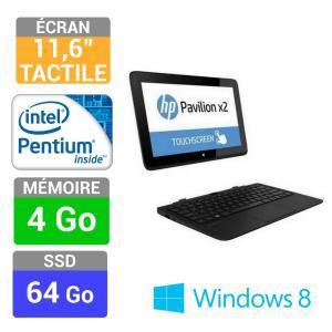 Tablette Hybride Windows 8 avec Clavier HP Pavilion x2 11-h060ef - 64go + Souris (avec ODR de 100€)