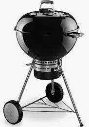 Barbecue Weber One Touch Premium 57 cm Black