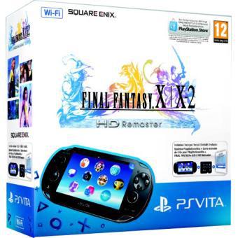 Pré-commande : Console Sony PS Vita WiFi + Final Fantasy X et X-2 HD