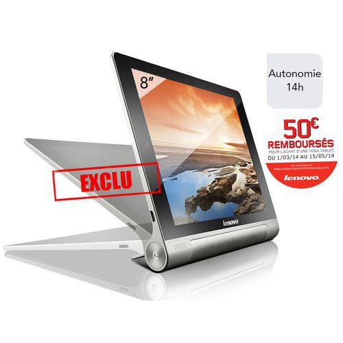 Tablette Tactile Lenovo Yoga Tablet 8'' (Avec ODR de 50€)