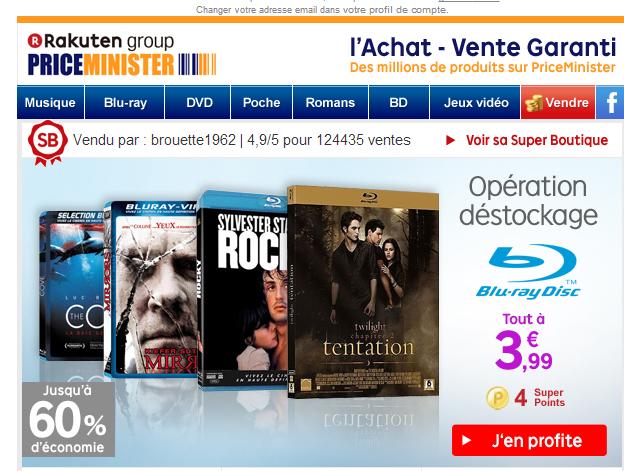 Opération déstockage Blu-ray : Sélection de titres
