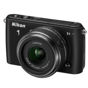 Appareil photo hybride Nikon S1 Noir + 11-27,5mm