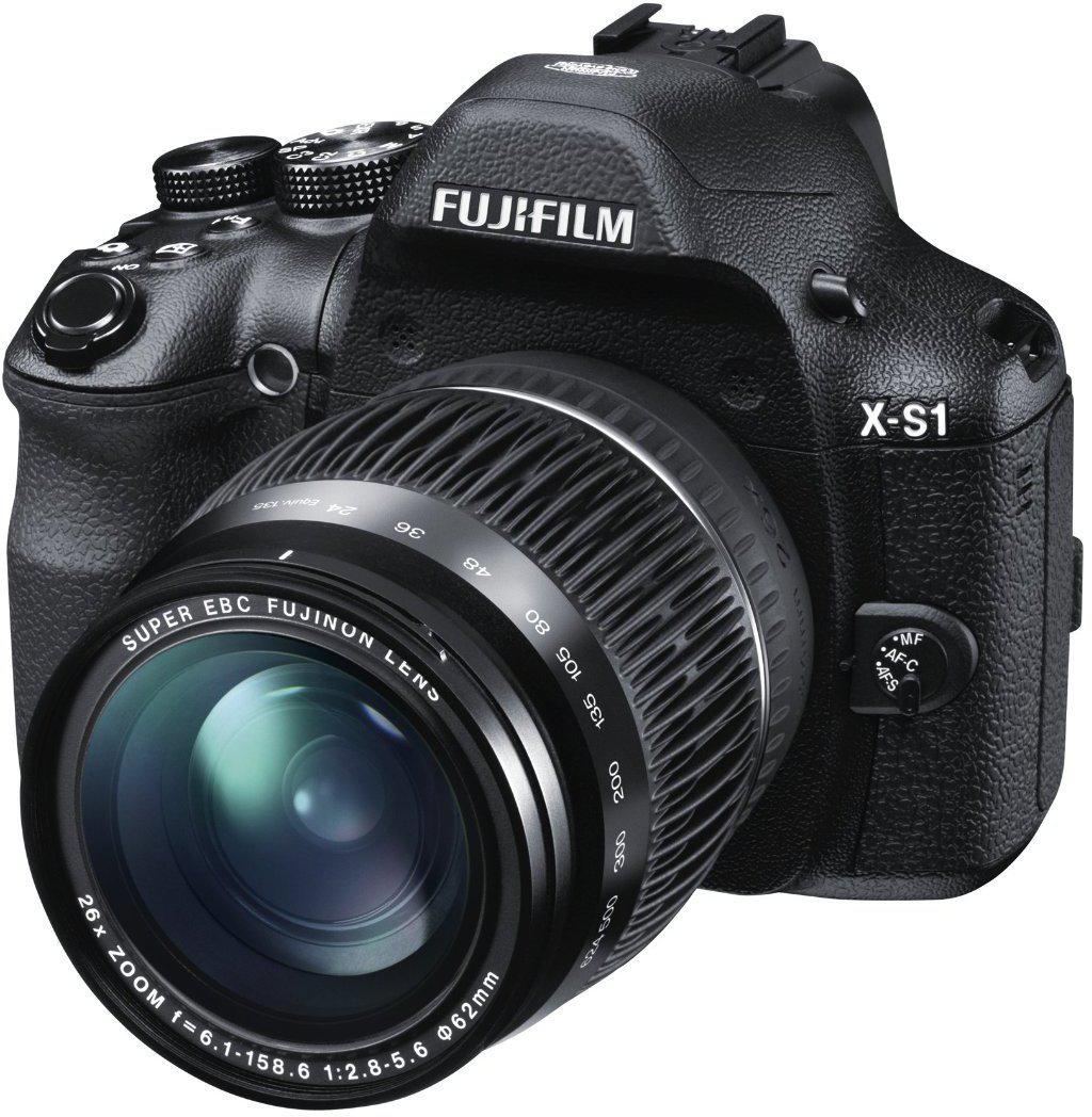 Appareil photo bridge Fujifilm X-S1 - 12 Mpix Zoom optique Fujinon 26x Noir