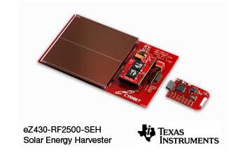 Kit développement sans fil solaire Texas eZ430-RF2500-SEH