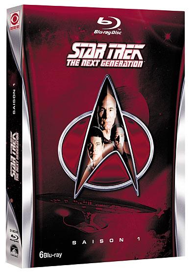 Coffret Blu-ray – Star Trek : La Nouvelle Génération – Saison 1,