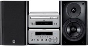 Mini-chaîne Hi-Fi / Home Cinéma YAMAHA E810 compatible DivX / DVD 2x 60W
