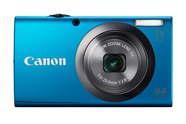 Appareil photo Canon A2300 Bleu - 16MP - zoom X5