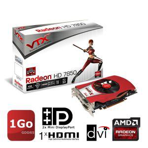 Carte graphique VTX3D AMD Radeon HD7850 1Go GDDR5 (79.99 via Buyster)