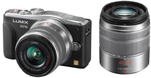 Appareil photo Panasonic GF6 + Objectifs 14-42 et 45-150