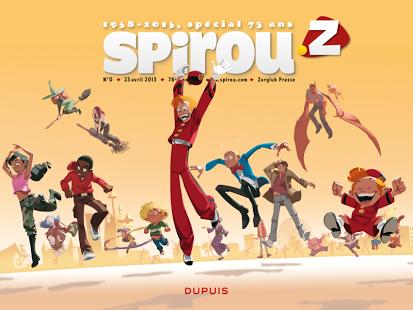 Magazine Spirou Z gratuit sous Android (enfin !)