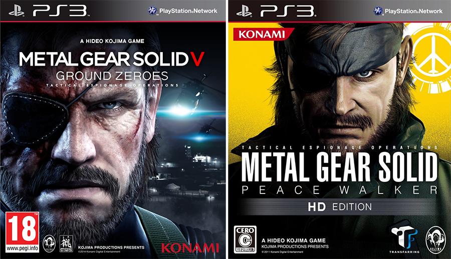 Metal Gear Solid Peace Walker HD offert pour toute pré-commande de MGS V Ground Zeroes sur PS3, soit les 2
