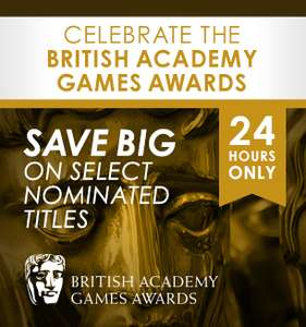 Promos 24h BAFTA : De 40 à -75% sur une sélection de jeux - Ex : Brothers à 4.66€,  Rayman Legends à 10.19€, NBA 2K14 à 10€...