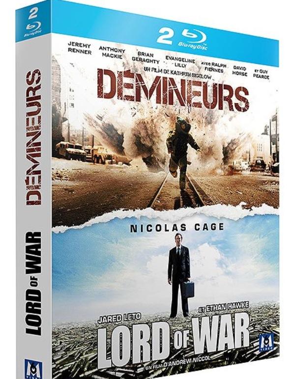 Coffret Blu-ray Démineurs / Lord Of War
