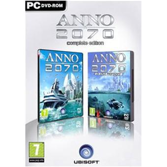 Anno 2070 - Complete Edition sur PC version boite