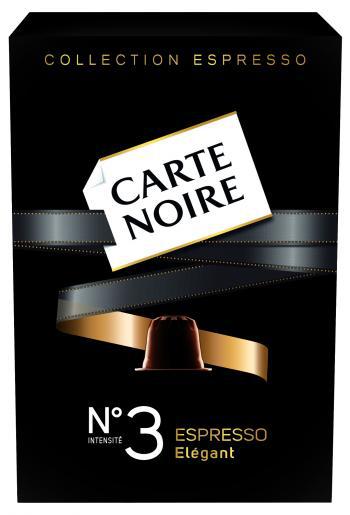 Capsules Nespresso Carte noire 1 acheté = 1 offert / Deux paquets