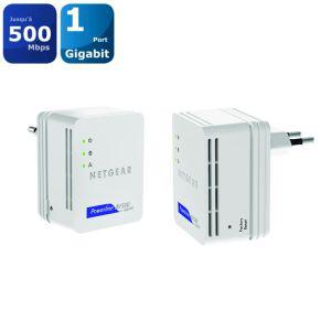 pack 2 CPL 500Mbps Netgear XAVB5101