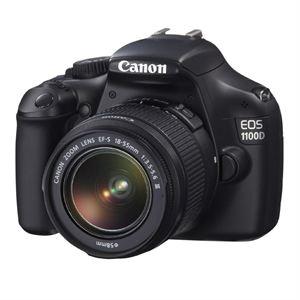Reflex Canon EOS 1100D + EF-S 18-55mm DC III