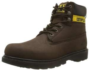 Boots Homme en Cuir Caterpillar Colorado Marron (Taille 40 à 49) / Port inclus