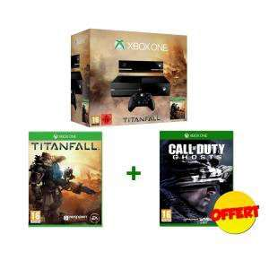 Console Xbox One avec Titanfall + Call Of Duty Ghosts