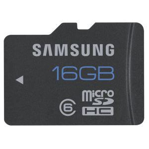 Carte Micro SD Samsung 16 Go Class 6