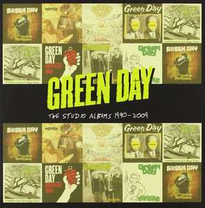 Coffret 8 CD Green Day The Studio Albums 1990-2009