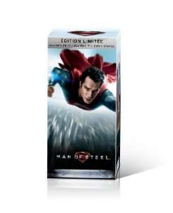 Coffret Collector Man of Steel - DVD + Blu-ray + Blu-ray 3D + Statue collector