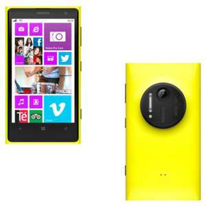 Smartphone Nokia Lumia 1020 Windows Phone - 4G - Jaune, noir ou blanc