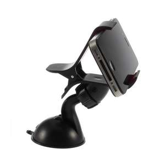 Support universel smartphone pour auto à ventouse