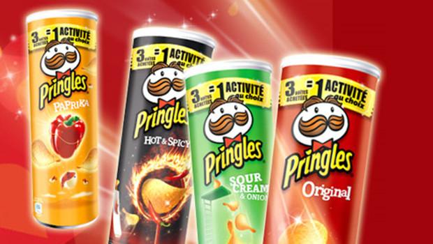 Chips Pringles Xtra (50% sur la carte)