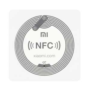 Lot de 4 stickers NFC Xiaomi