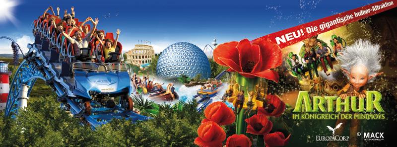 Europa Park : Formule hôtel + entrée au parc à -20% pour certaines dates - Ex: 2 adultes + 2 enfants (nuit + 2 jours au parc)