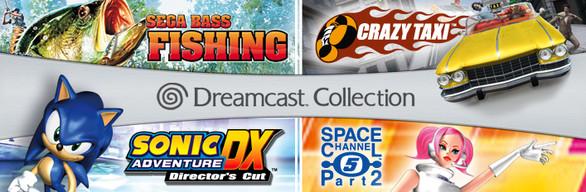 Dreamcast Collection sur PC : Crazy Taxi + Sega Bass Fishing + Sonic Adventure DX + Space Channel 5: Part 2