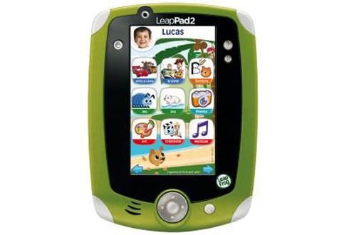 Tablette Tactile Enfant Leapfrog Leappad 2 vert ou rose