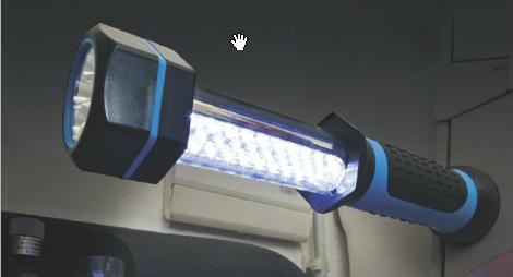 [A partir du 22/03] Lampe torche LED baladeuse rechargeable