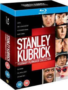 Coffret Blu-Ray Stanley Kubrick - 7 Films