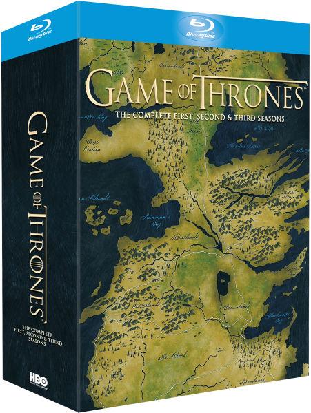 Coffret Blu Ray Game of Thrones Saisons 1, 2 et 3