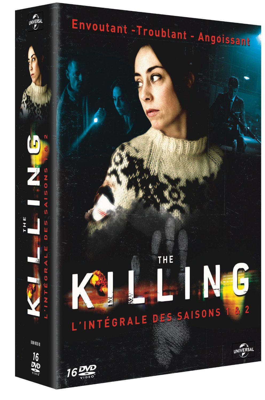 Coffret DVD Forbrydelsen (The Killing, version danoise) saisons 1 et 2