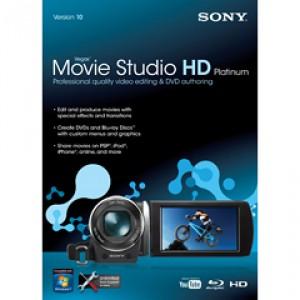 Logiciel de montage vidéo Vegas Movie Studio HD Platinum 10