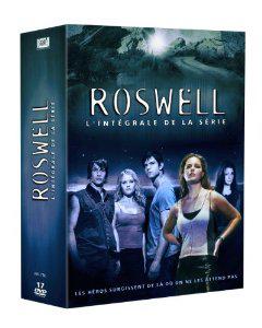 Coffret DVD Roswell - L'intégrale de la série (Saisons 1 à 3)