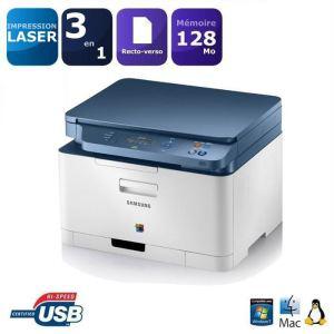 Imprimante multifonction laser couleur 3 en 1 Samsung CLX-3300