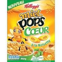 Optimisations catalogue du 18 au 30/03 - Ex: 3 paquets de céréales Kellogg's Miel Pops coeur à la noisette
