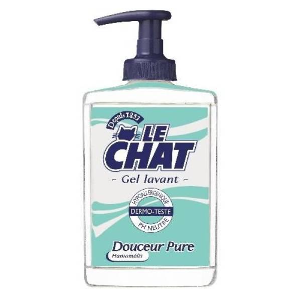 1 distributeur de savon Le Chat 300ml + 4 recharges de savon Le Chat 250ml gratuits