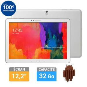 Tablette Samsung Galaxy Note Pro 12'' 32 Go (Avec ODR de 100€) + 2 bons d'achat de 89€ sur l'informatique
